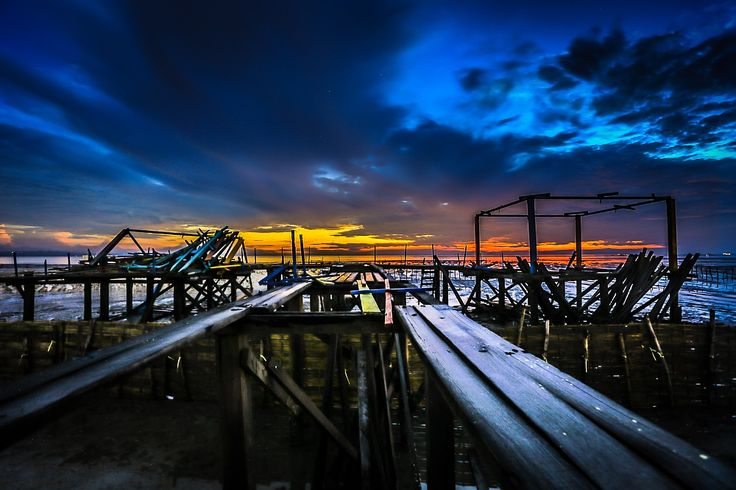 you satisfied ??? Pier has been destroyed by Kun Riyanto on 500px