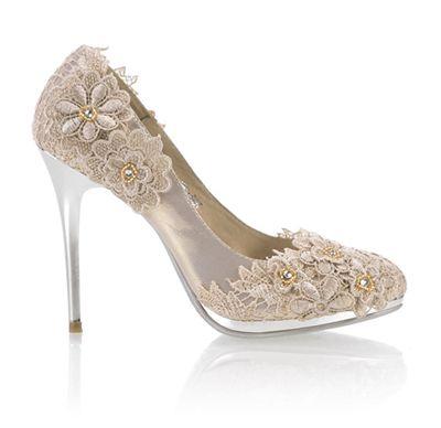 lace wedding shoes #wedding #shoes
