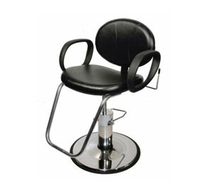 Popular #Collins #Berra #Reclining #Salon #Chair for sale exclusively by #KellerInternational. Made for all services in the beauty industry!
