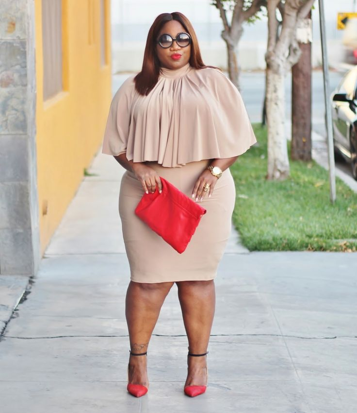 Plus Size Fashion for Women -  LACE N LEOPARD: creme dela creme