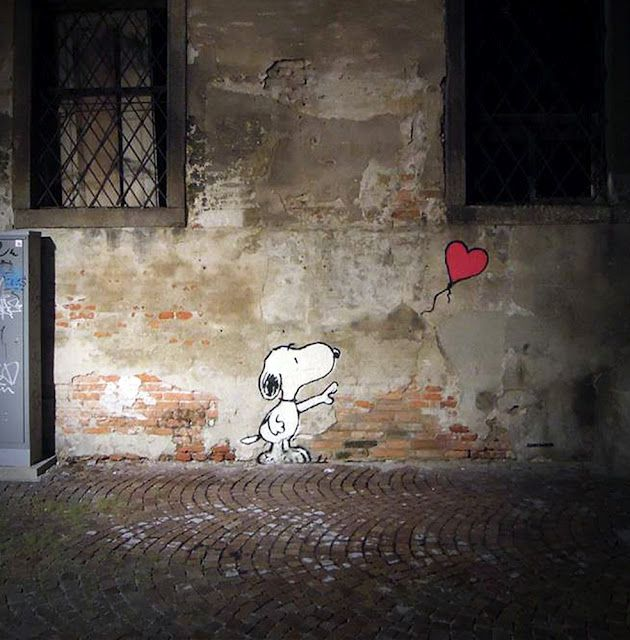 Kenny Random New Street Pieces In Padua, Italy