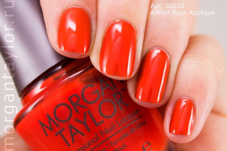 Morgan Taylor Amber Rush Applique