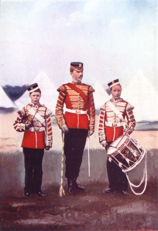 Colour Plate....Drum-Major and Drummers, Coldstream Guards 1900