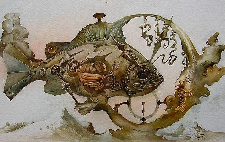 Yuri Laptev Russian surrealist