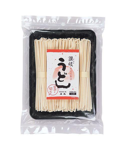 石丸製麺の包丁切り讃岐うどん とびきり美味しい乾燥うどん:一時帰国時に必ず購入