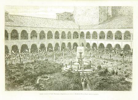Bogotá, Colombia Convento de Santo Domingo siglo XIX
