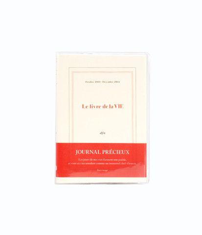 Delfonics 2014 Diary - A6 (10x15cm) - Weekly Horizontal - Le Livre des Sens