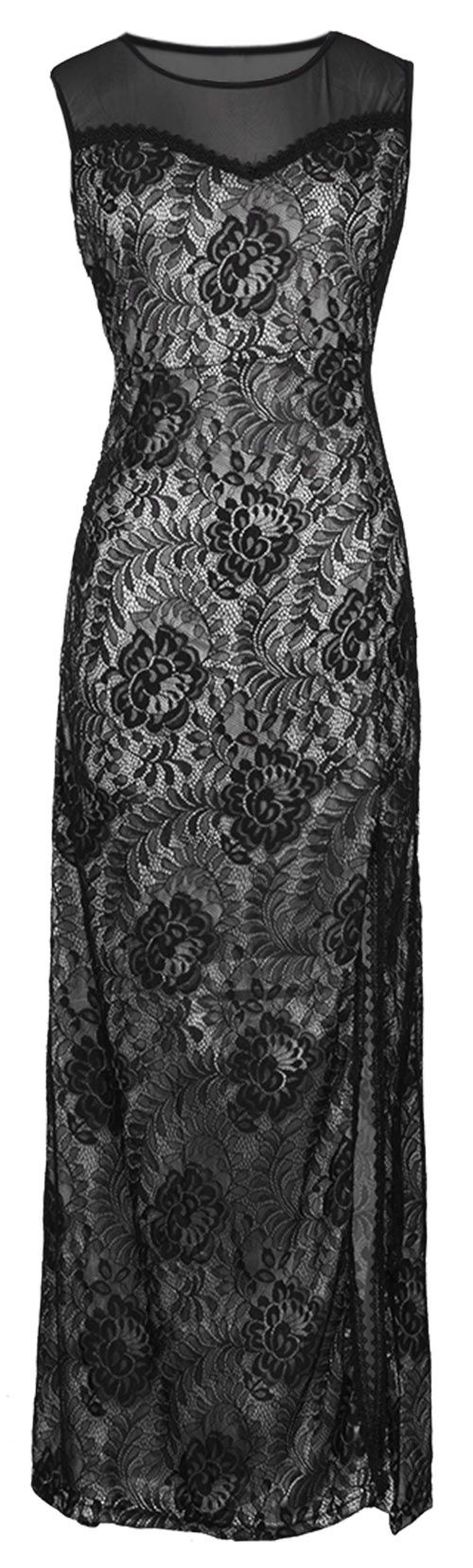 Only $23.99 with Free Shipping &Easy Returns! Stunning and comfortable all at the same time! This lace maxi dress is comfy perfections. You will love this super sweet maxi! Wear with a cardigan on chilly days, or without to show a little skin! Find your favorite at Cupshe.com !