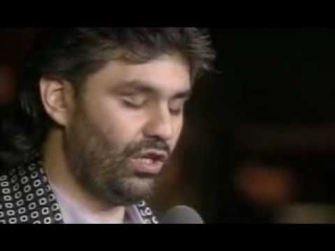 Time to Say Goodbye-   Sarah Brightman and Andrea Bocelli  Wedding song idea