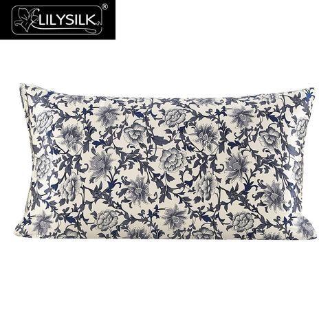 [EBay] Lilysilk 100% Silk Pillow Cover 16 Momme Blue