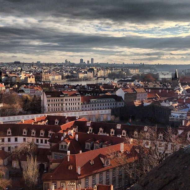 Prague Castle View Point