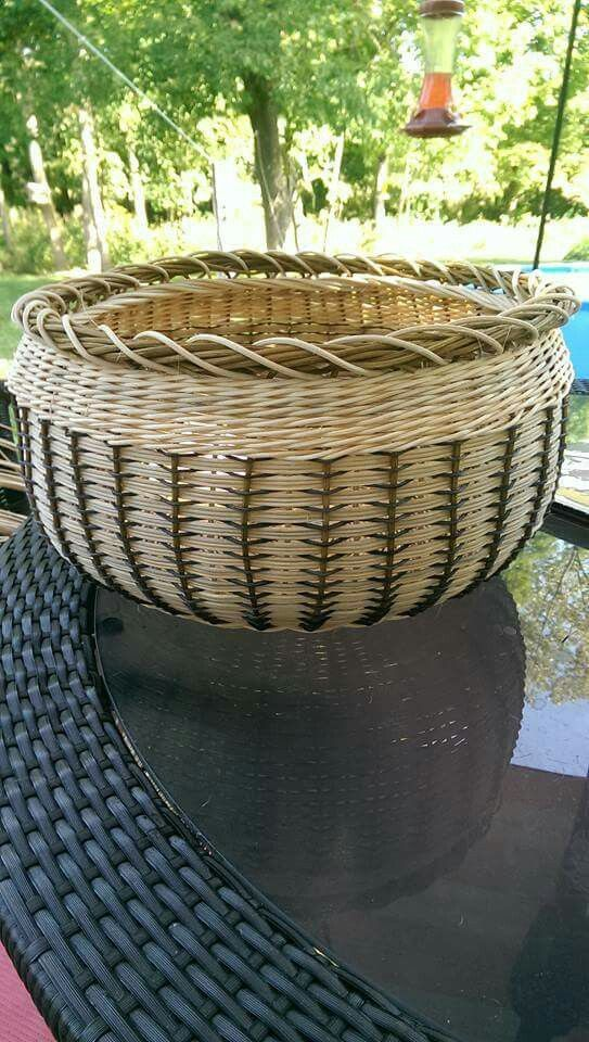 Resembles a pine needle basket in a cool way