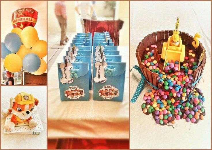 #pawpatrol #kitkat cake #birthday