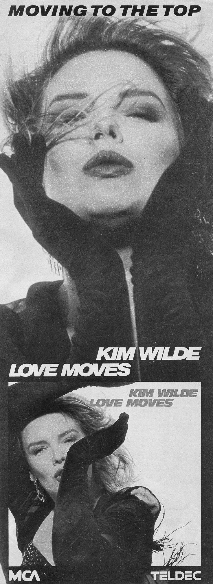 German advert for 'Love moves', 1990.