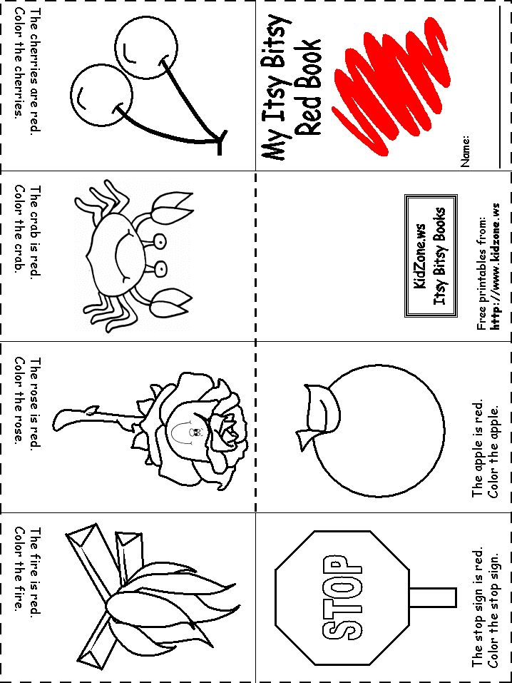 colors recognition practice worksheet preschool printablespreschool craftscolor - Printable Preschool Crafts