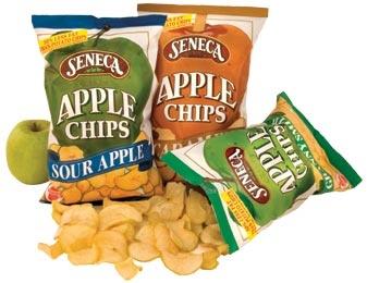 Seneca Crispy Apple Chips, love these and the sweet potato too