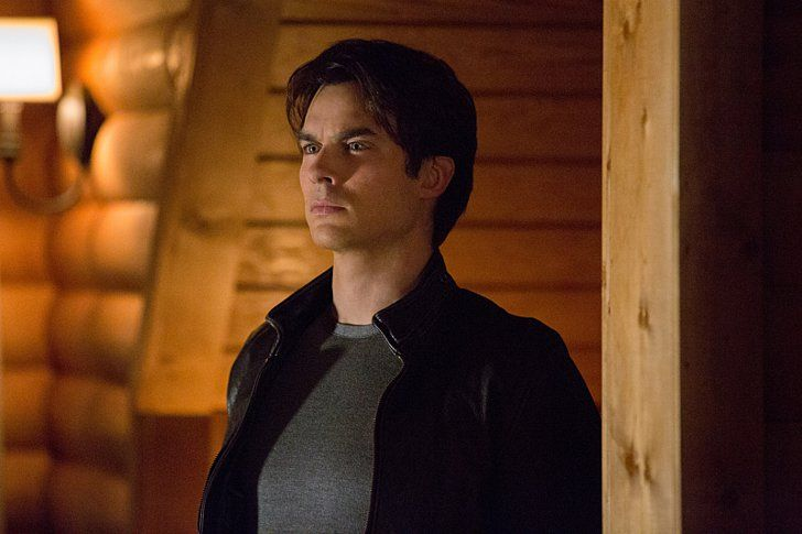 Pin for Later: How Old Are the Actors on The Vampire Diaries? Damon Salvatore (Ian Somerhalder) Damon's Age: 25/177 Ian's Age: 37