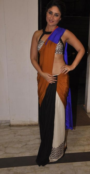 Kareena Gives The Saree A Sexy Twist