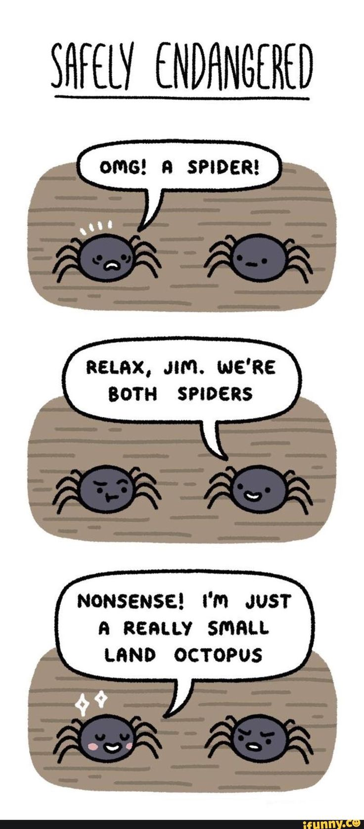 comic, lol, land, octopus, spiders