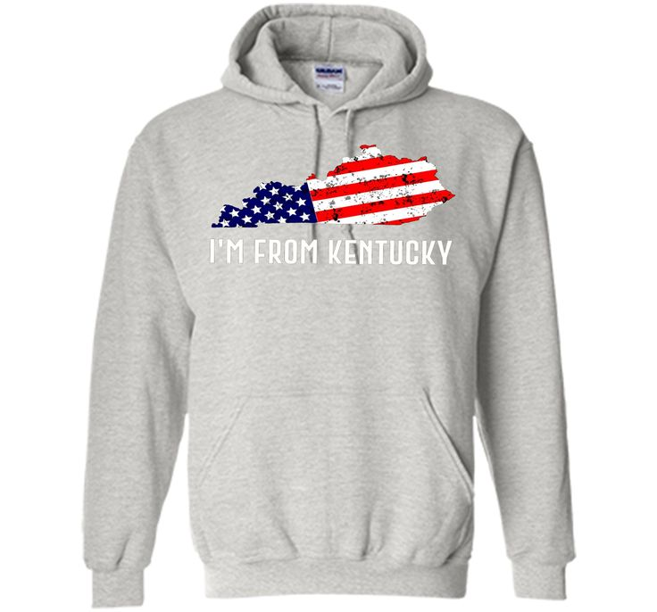 Proud of Kentucky-US flag Independence day Tshirt