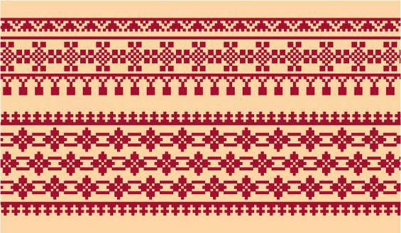 Русский орнамент для вышивания