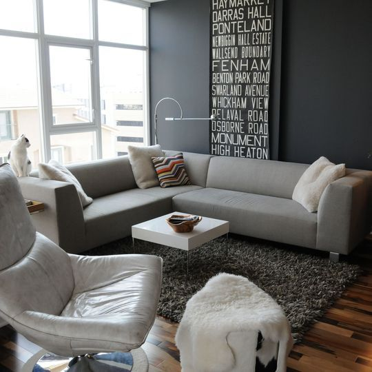 grey and blue living room | 69 Fabulous Gray Living Room Designs To Inspire You