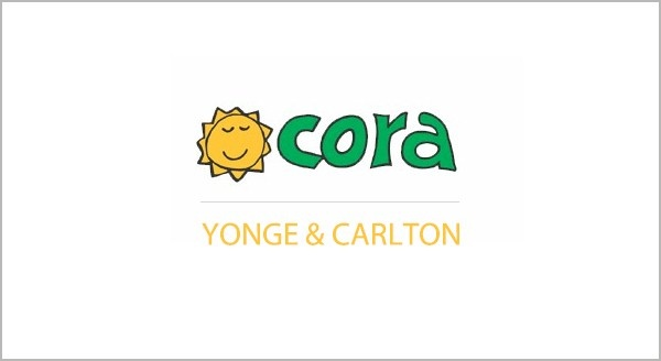 Cora is known for its awesome breakfast, lunch and brunch locations including this one at Yonge and Carlton in downtown Toronto!  http://streets.to/assets/recent/corabreakfastlunch_carltonstreet.php