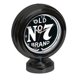 Jack Daniels Tabletop Neon Clock JD-36602