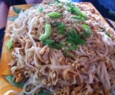 Pad Thai Chicken - might try this with slim pasta for a low carb dish