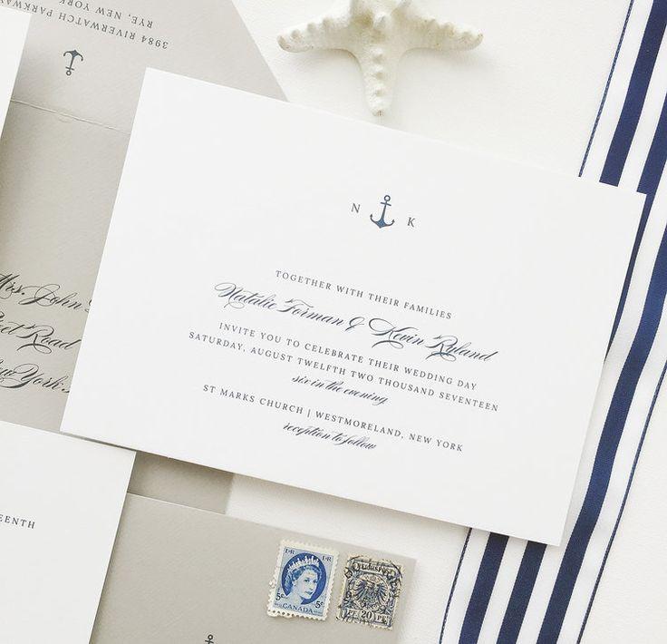 Natalie Wedding Invitations Wedding Invites by