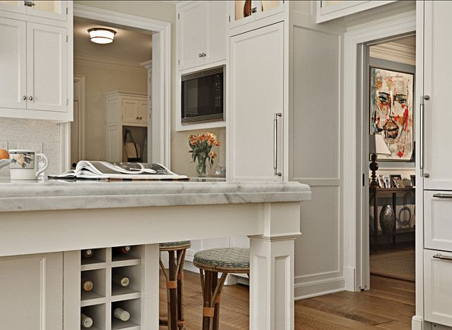 Grand Teton White Kitchen Cabinets