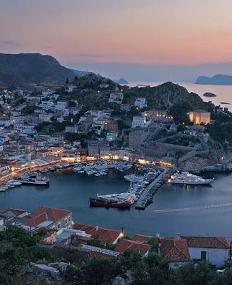 Theocharis Stergios - Lighting & Interior Design: HYDRA: THE LAID-BACK GREEK ISLAND