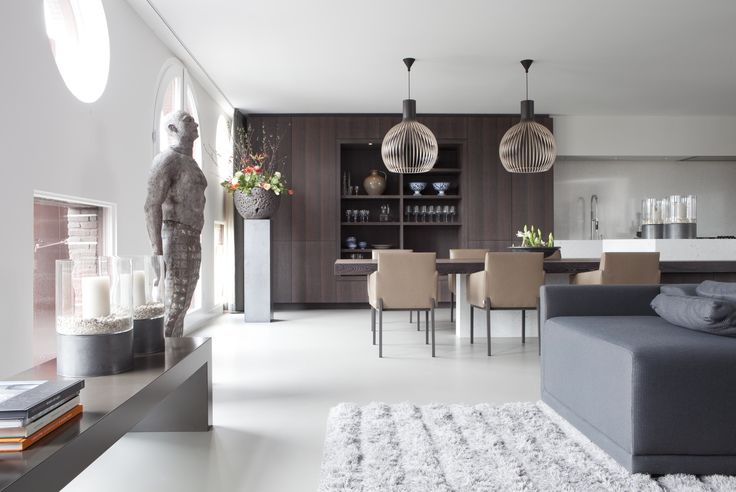 Penthouse Amsterdam; design Remy Meijers