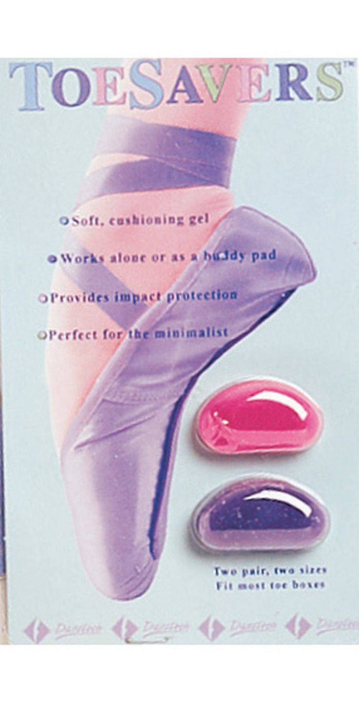 ToeSavers Mini Pointe Shoe Pads - Style #TSAV at Discount Dance Supply