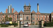 The former Leeds workhouse is now the Thackray Museum of medicine, adjacent to St James hospital.