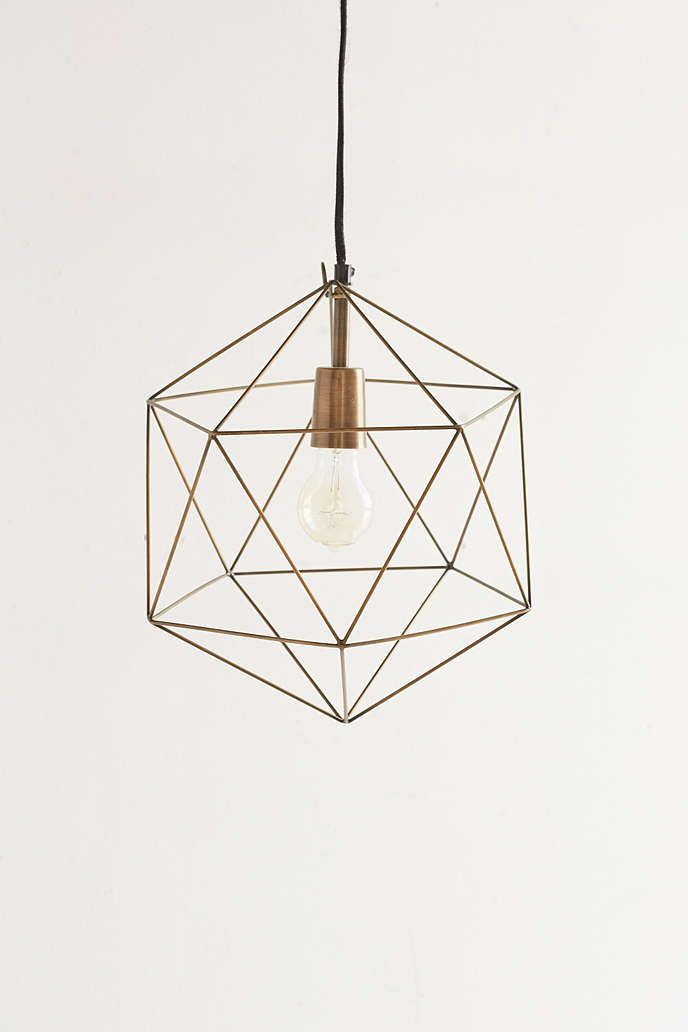 Geo Pendant | lighting | Pinterest | Magical thinking, Geo ...