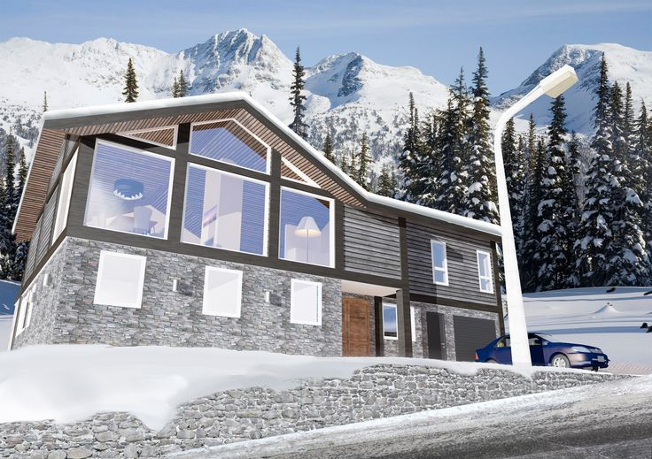 New cabin at Hovden, Norway. Construction starts soon and more pics will be available at www.arkide.com.