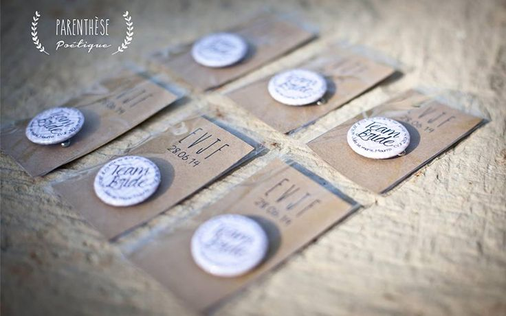 Badges EVJF - Parenthèse Poétique