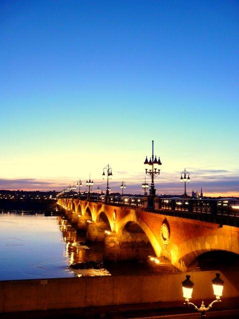 Magnifique coucher de soleil à Bordeaux