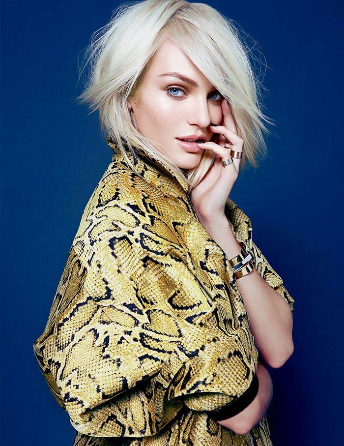 Platinum blonde perfection