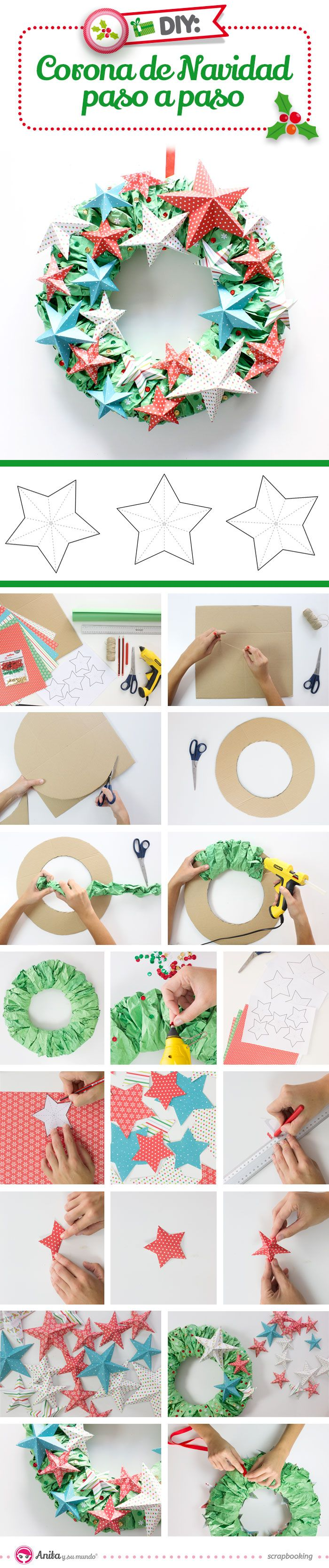 Ms de 25 ideas increbles sobre Puerta de navidad en Pinterest