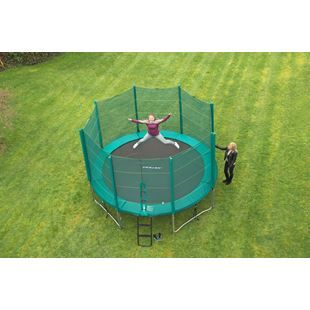 Wide range of Trampolines in all sizes: 6ft, 8ft, 10ft, 13ft trampolines with enclosure at Smyths Toys UK. Visit our store now