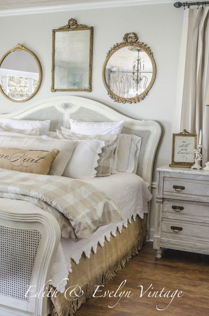 Feature Friday: Edith And Evelyn Vintage. Country Master BedroomFrench ...