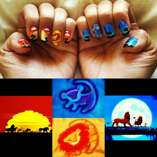 Lion King nails                                                       …