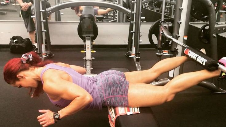 Smith Machine-Assisted Glute-Ham Raise Sculpt Your Lower Body With Erin Stern!