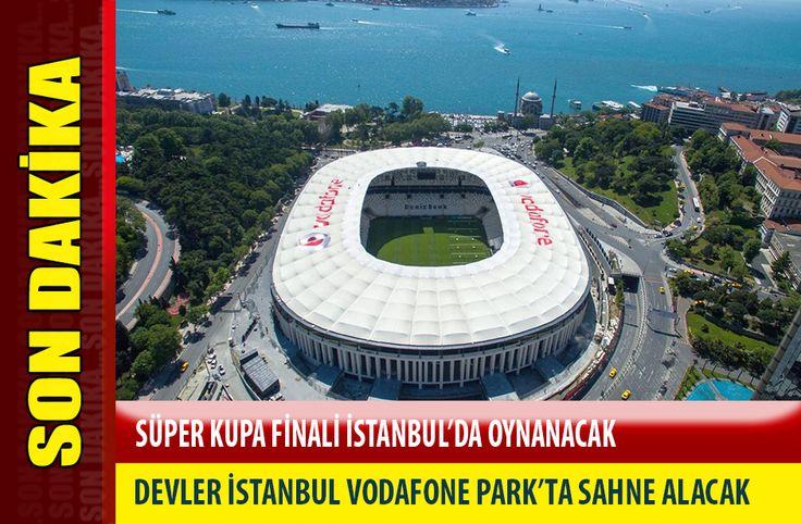 UEFA Süper Kupa finali İstanbul'da oynanacak - 2019 UEFA Süper Kupa finaline İstanbul Vodafone Park ev sahipliği yapacak.  2019 yılında yapılacak Süper Kupa finaline ev sahipliği yapacak stat, Vodafone Park oldu  Hatırlanacağı gibi Beşiktaş kulübü daha önce bu konuda bir başvuruda bulunmuş ve Vodafone Park'ı Avrupa Ligi ve de Süper Kupa - http://bit.ly/2himI4X