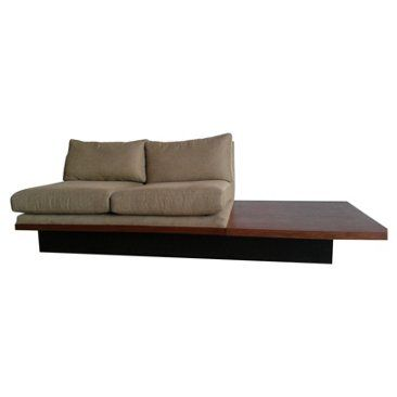 Check out this item at One Kings Lane! Milo Baughman Settee