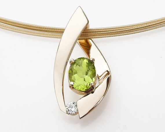 Peridot necklace.