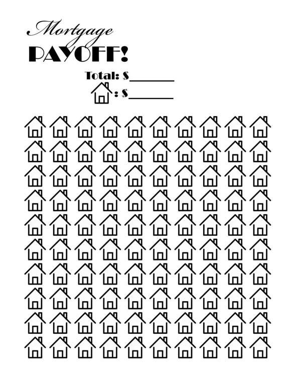 Mortgage payoff tracker. Great way to keep yourself