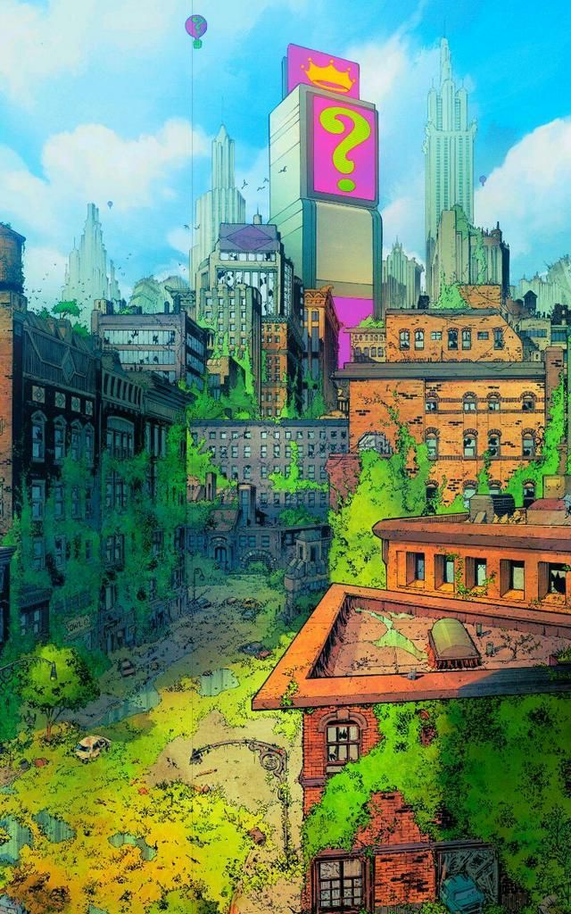 Batman - Gotham City by Greg Capullo *